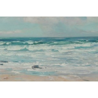 Tide on the Beach' Oil on Canvas Art