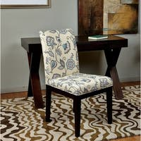 Office Star Products Dakota Parsons Paisley/Scroll Floral Upholstered Armless Chair