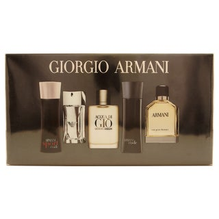 Giorgio Armani Variety Men's 5-piece Fragrance Set