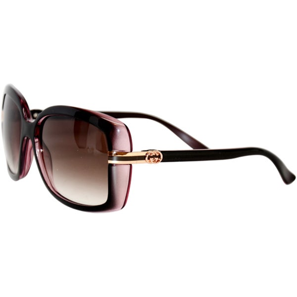 Shop Gucci 3188/S Brown Pink Women's 58-16-135 mm ...