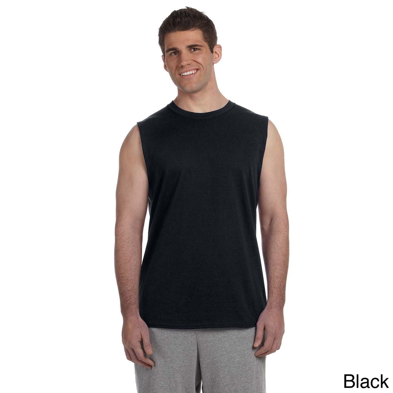 Gildan Mens Ultra Cotton Sleeveless T shirt
