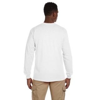 Gildan Men's Ultra Cotton Long Sleeve Pocket T-shirt