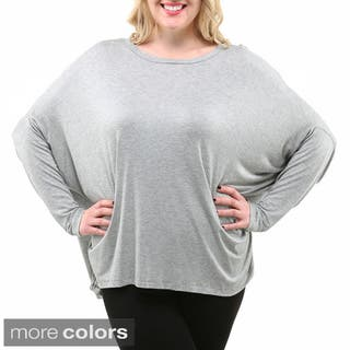 95a1bcaf59c Dolman Sleeve Women s Plus-Size Clothing