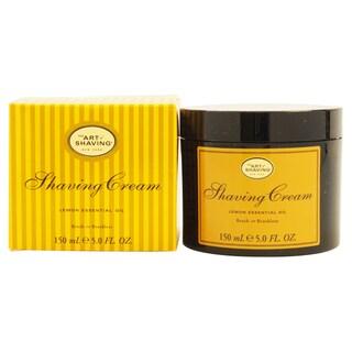 The Art of Shaving Men's Lemon 5-ounce Shaving Cream