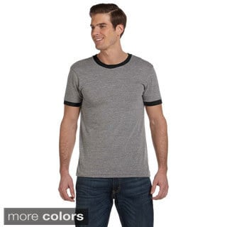 Men's Contrast Ringer Crew Neck T-shirt
