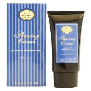 The Art of Shaving Men's 2.5-ounce Lavender Shaving Cream