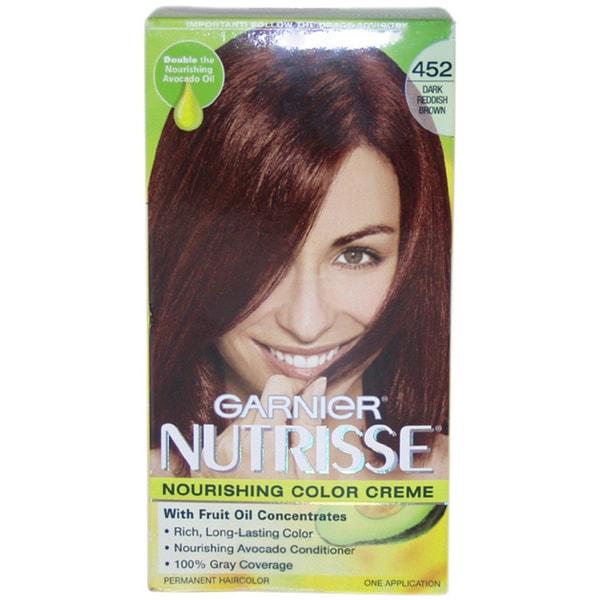 Shop Nutrisse Nourishing #452 Dark Reddish Brown Color ... - photo #21