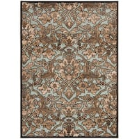 Safavieh Paradise Soft Anthracite/ Anthracite Viscose Rug - 4' x 5'7""