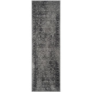 Safavieh Adirondack Vintage Distressed Grey / Black Rug - 2'6 x 8'