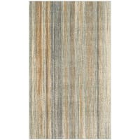 "Safavieh Vintage Light Blue Abstract Distressed Silky Viscose Rug - 3'3"" x 5'7"""