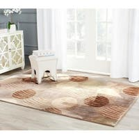 Safavieh Infinity Taupe/ Beige Polyester Rug - 8' x 10'