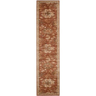 Safavieh Florenteen Rust/ Ivory Rug (2' x 8')