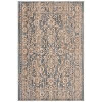 Safavieh Infinity Grey/ Beige Polyester Rug - 5'1 x 7'6