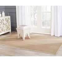 Safavieh Infinity Beige/ Green Polyester Rug - 9' x 12'
