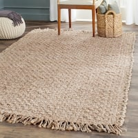 Safavieh Casual Natural Fiber Hand-loomed Natural Jute Rug - 4' x 6'