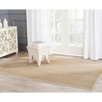 Safavieh Infinity Beige/ Green Polyester Rug - 5'1 x 7'6