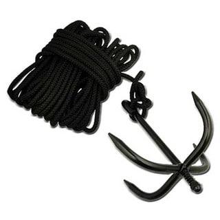 Grappling Anchor Hook and Nylon Ninja Rope Cadet Bushcraft