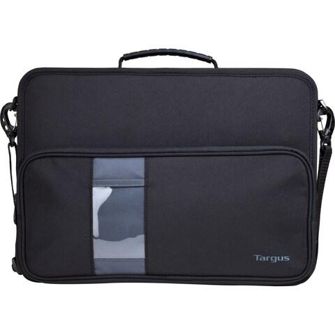 "Targus TKC002 Carrying Case (Briefcase) for 14"" Notebook - Black, Gra"