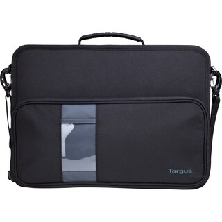 "Targus TKC002 Carrying Case (Briefcase) for 14"" Notebook - Black, Gra"