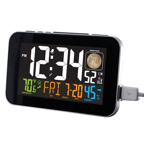 lacrosse projection alarm clock La crosse technology la crosse clock co for over 30 years the la crosse technology® family of brands has offered a wide variety of easy projection alarm.