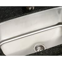 Polaris P813-18 Gauge Single Bowl Stainless Steel Sink