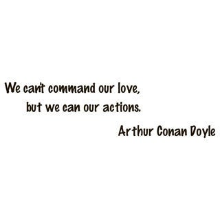 Shop Arthur Conan Doyle Quotes Vinyl Wall Art Free