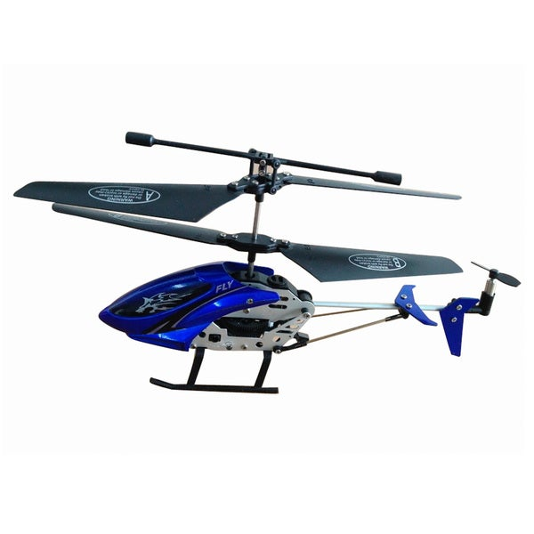 Blue 3.5 Channel Infrared Remote Control Helicopter