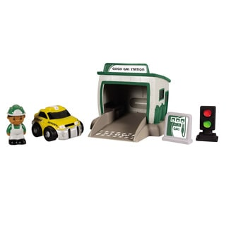 Kid Galaxy GoGo City Gas Station Playset