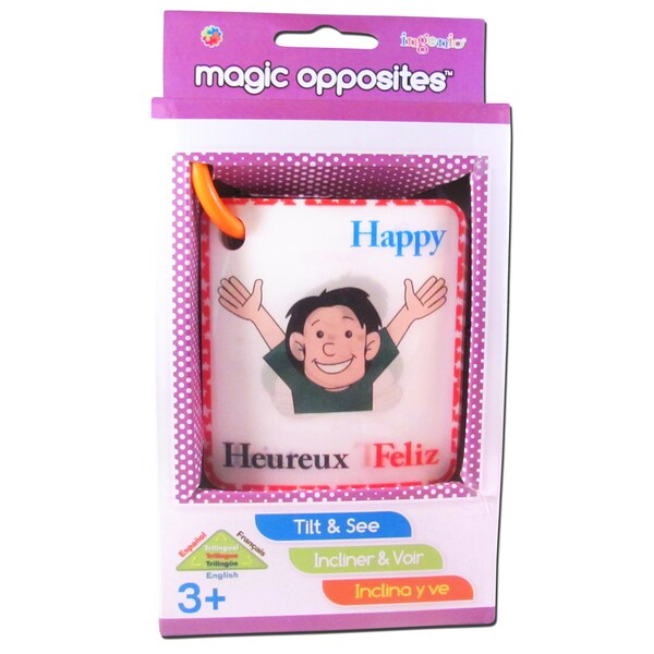 Smart Play Magic Opposites Flash Cards