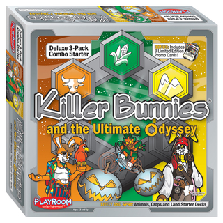 Killer Bunnies Odyssey Starter Combo Lively and Spry