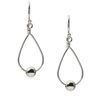 Journee Collection Sterling Silver Tear -drop Dangle Earrings