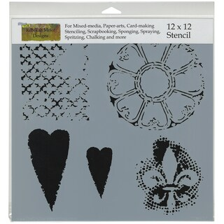 """Crafter's Workshop Template 12""""X12""""-Gothic Romance"""