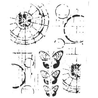 "Crafter's Workshop Template 6""X6""-Specimens"