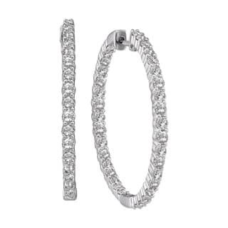 Eloquence 14k White Gold 1/2ct TDW Diamond Hoop Earrings https://ak1.ostkcdn.com/images/products/8993905/14k-White-Gold-1-2ct-TDW-Diamond-Hoop-Earrings-H-I-I1-I2-P16198915.jpg?impolicy=medium