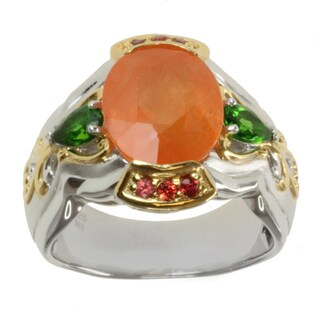 Michael Valitutti Two-tone Multi-gemstone Ring|https://ak1.ostkcdn.com/images/products/8994051/Michael-Valitutti-Two-tone-Multi-gemstone-Ring-P16198682.jpg?_ostk_perf_=percv&impolicy=medium