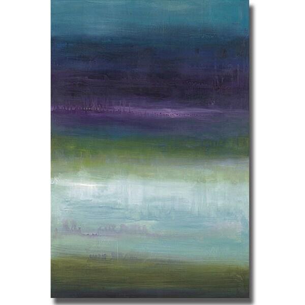 Wani Pasion 'Midnight Mulberry' Canvas Art