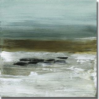 Heather McAlpine 'Beach Horizon' Canvas Art
