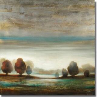 Pablo Rojero 'Warm Horizon' Canvas Art