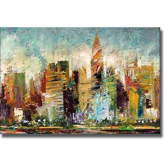 Bruce Marion 'Metropolis' Canvas Art