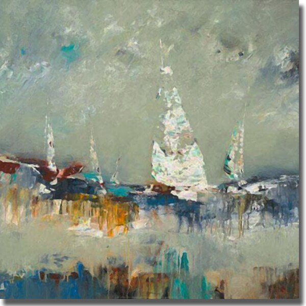 Lisa Ridgers 'Sailing Away' Canvas Art