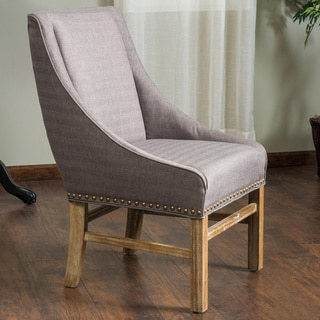 James Upholstered Fabric Dining Chair by Christopher Knight Home