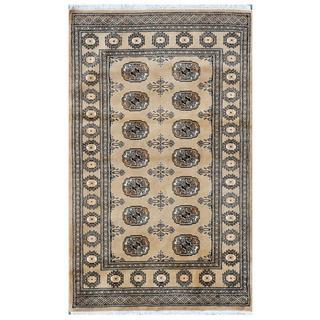 Handmade Bokhara Wool Rug (Pakistan) - 3'3 x 5'2