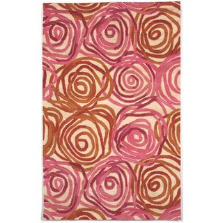 Liora Manne Faded Floral Indoor Rug (5' x 8') - 5' x 8'