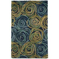 Faded Floral Indoor Rug - 5' x 8'