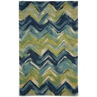 Painterly Indoor Rug (8' x 10') - 8' x 10'