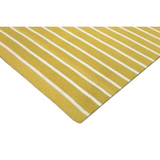 Tailored Yellow Outdoor Rug (8'3 x 11'6)