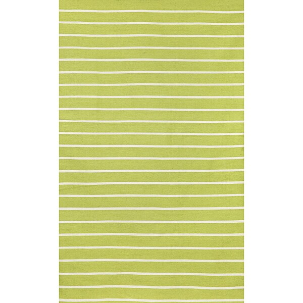 Liora Manne Tailored Sage Green Outdoor Rug (8'3 x 11'6) - 8'3 x 11'6
