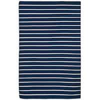 Tailored Navy Outdoor Rug (8'3 x 11'6)
