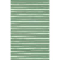 Tailored Aqua Outdoor Rug (7'6 x 9'6)