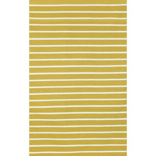 Tailored Yellow Outdoor Rug (7'6 x 9'6)